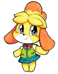Copic Isabelle by SilviShinyStar