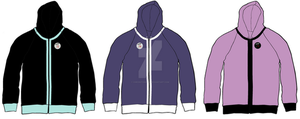 The Village Variant resident's suits hoodies 1 by Chroniton8990