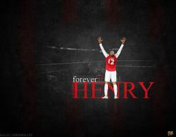 Thierry Henry by ChrisHolley
