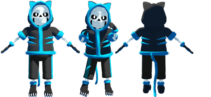 Cheshire Sans Model DL by KittyNekkyo
