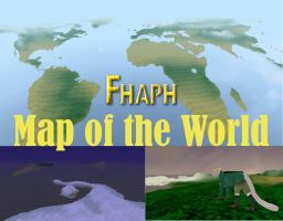 Hetalia Map of the World - FH Map by SnowWolpard