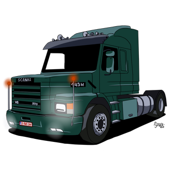 scania 143h by theo46