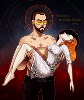 The Lord gives and the Lord takes away by Das-Leben