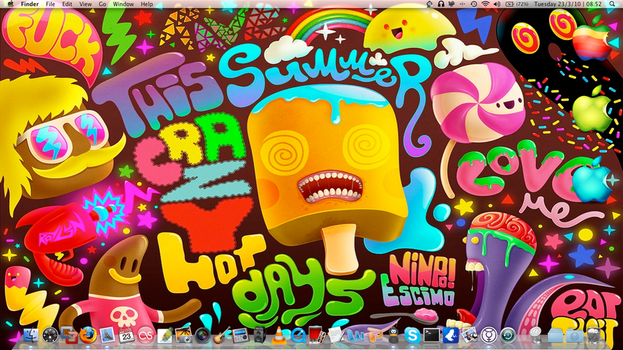 Trippy Desktop by Tibboh