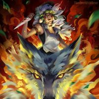 Princess Mononoke by TheOneWithBear