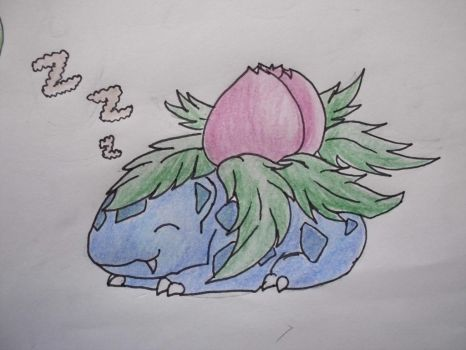 2 - Ivysaur by Aurora-Ghost