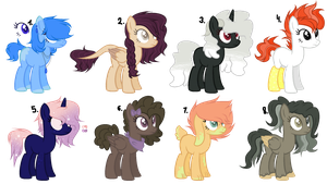 Ye boi even more MLP Adopts ((CLOSED)) by CrazyAya