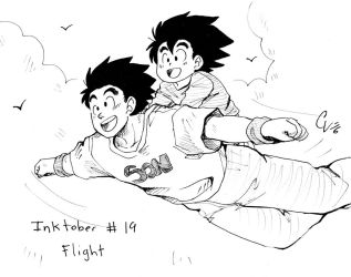 Inktober19 by camlost