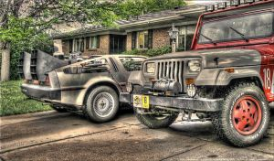 Jurassic Park Jeep HDR by mindustry