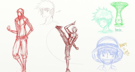 Sketch Dump Fun 2 by omnomkims
