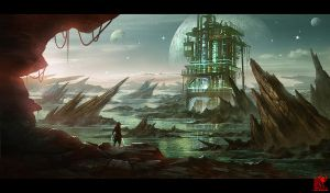 Industrial Planet by zhaoenzhe