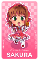 Sakura Kinomoto [Chibi Collection] by Rayhak