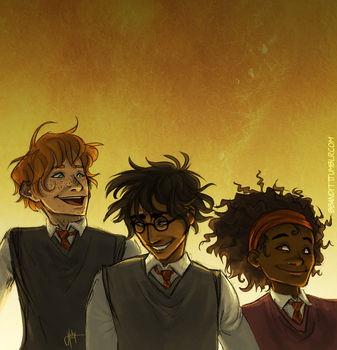Golden Trio by blindbandit5
