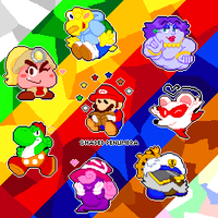 Paper Mario TTYD Pixel Collection by ShadedPenumbra