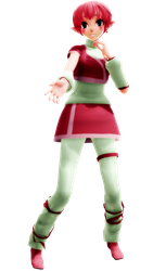[Code Lyoko MMD] tda Aelita + Model DL by Rymoka