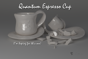 Quantum Espresso Cup by TheDuckCow