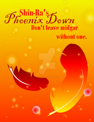 Phoenix Down Ad by Wheeljack299