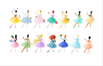 Ballerina Princesses by AmadeuxWay