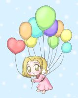 Balloons by lillilotus