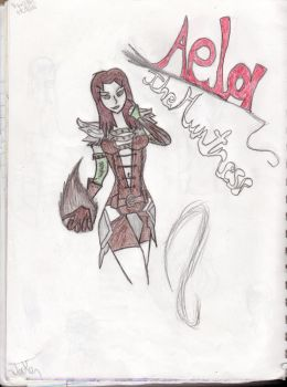 Aela the huntress - Color by jakeisepic16