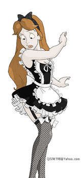 Maid Costume by qxvw198