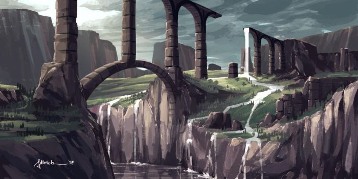 Aqueduct by onlychasing-safety