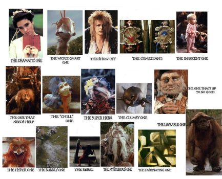 Labyrinth Character Tags by PreciousThing66