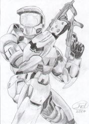 Master Chief from Halo 2 by JuanPabloA1987