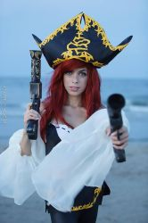 Miss Fortune lol cosplay by doriano by LilituhCosplay