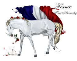 Horse Hetalia: France by MUSONART