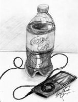 Charcoal Still Life by Graywolf95