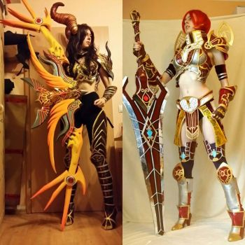 Cosplays in 2015 and 2014 by Zwielichtodin