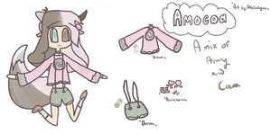 Amocoa (OC Reference) by alliemews