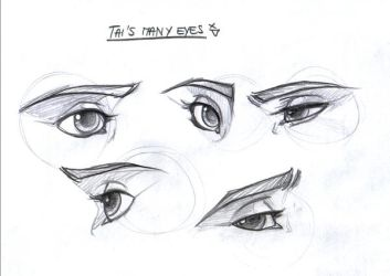 Tai's eyes by leelakin