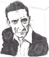 Johnny Cash by danlewis4475