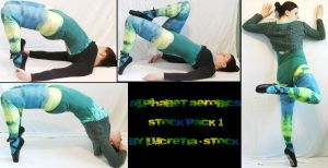 alphabet aerobics stock pack 1 by lucretia-stock