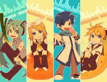 VOCALOID Bookmarks by Chancake