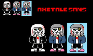 Axetale Sans by PhillyCheeseStake