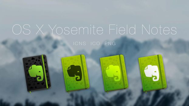 Evernote Book Icon by JasonZigrino