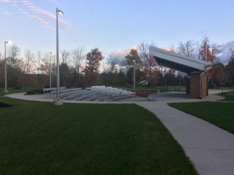 Outside amphitheater at BL by BryceMigliore