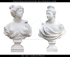 Female Bust Cut Out by ManicHysteriaStock