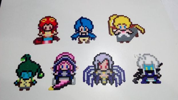Monster Musume Perlers Beads Figures by Kirbmaster