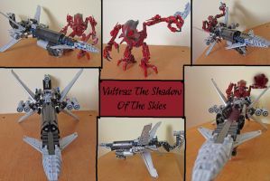 Bionicle G1:Vultraz (Modified) by Trimondius01