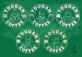 Toudan Coffee - Sanjou Set by AlaudeSketchbook