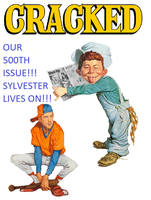 Cracked Magazine (Issue #500) by KristinViolet89