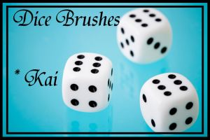 Dice Brushes by KaiPrincess