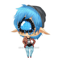 {AT} Too Nerdy For You by IdoodleChibis