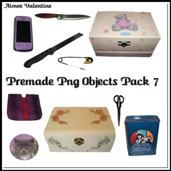 Premade Png Objects Pack 7 by Lady-Valentine-Art83