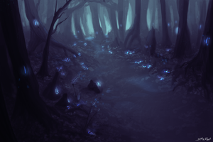 Enchanted forest by Sticklet