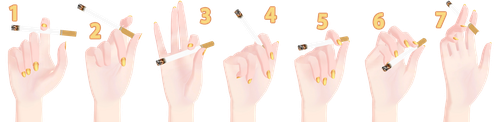 [MMD] Hand Pose Pack (Smoking) - DL by Snorlaxin